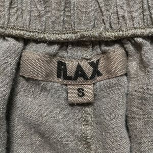 Flax Pants - Flax Stone Brown 100% Linen Tapered Leg Pants
